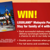 KFC Delivery Lucky Draw – Win Legoland Malaysia Passes