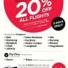 AirAsia UOB Cardmembers Exclusive – 20% Off