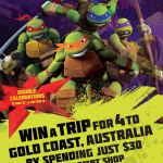 [Shop&Dine@SMRT] Win a Trip for 4 to Gold Coast, Australia
