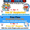 The Manhattan Pizza Co. Free Flow Madness Week Promotion (18 – 21 Feb 2013)