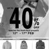 The North Face – Up To 40% Off (Till 17 Feb 2013)