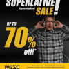 WsSC Superlative Sale – Up To 70% Off