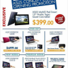 ASUS Concept Store Opening Specials