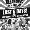 BHG Bugis Renovation Clearance Sale (Till 11 Aug 2013)