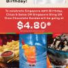 Chilis National Day $4.80 Special Promotion