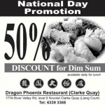 Dragon Phoenix Restaurant National Day Promotion