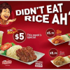 KFC Roasta Chicken Rice Meal @ $5 (Till 18 Aug 2013)
