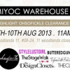 MIYOC Warehouse Sale II (8 – 10 Aug 2013)