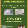 Times Bookstores NUSS Alumni Privileges – Get 10% Off