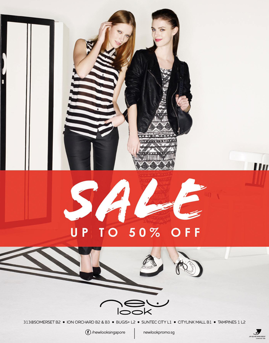 New Look Mid Season Sale - Up To 50 Off (Till 2 Apr 2013)