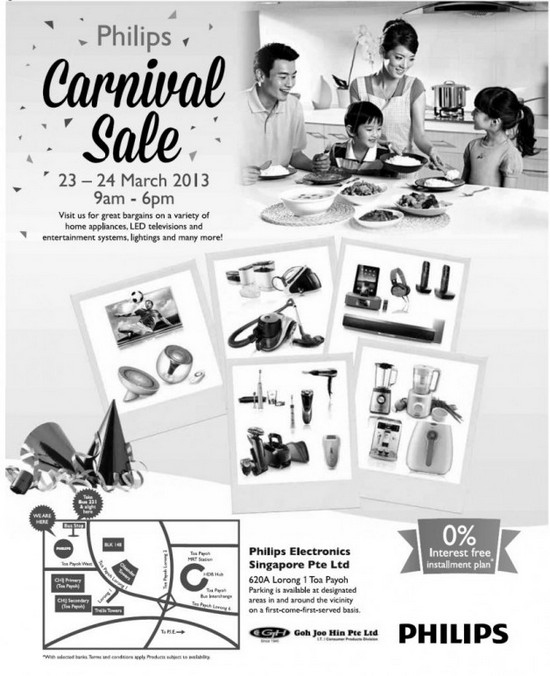 Philips Carnival Sale (23 - 24 Mar 2013)