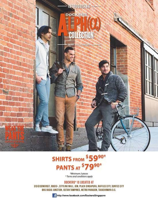 Dockers Shirts & Pants Promotion