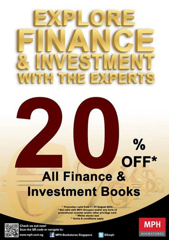 MPH Bookstores 20 Off Finance & Investment Books