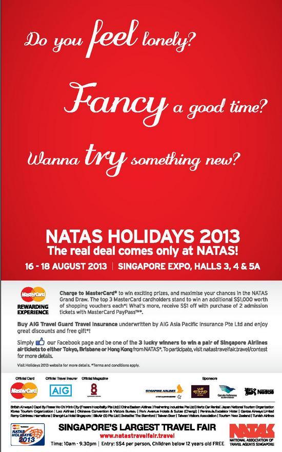 NATAS Holidays 2013