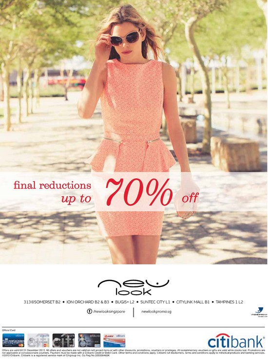 New Look Sale - Final Reductions Up To 70 Off