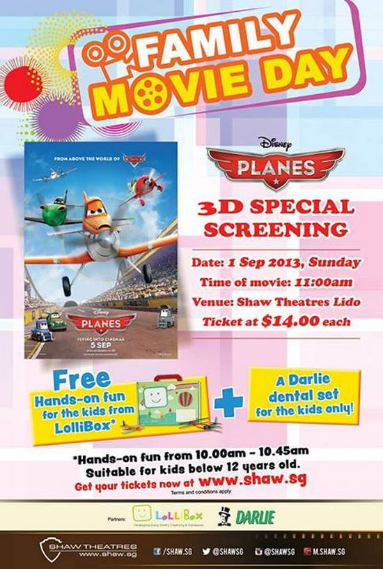 Shaw 3D Special Screening of Disneys PLANES