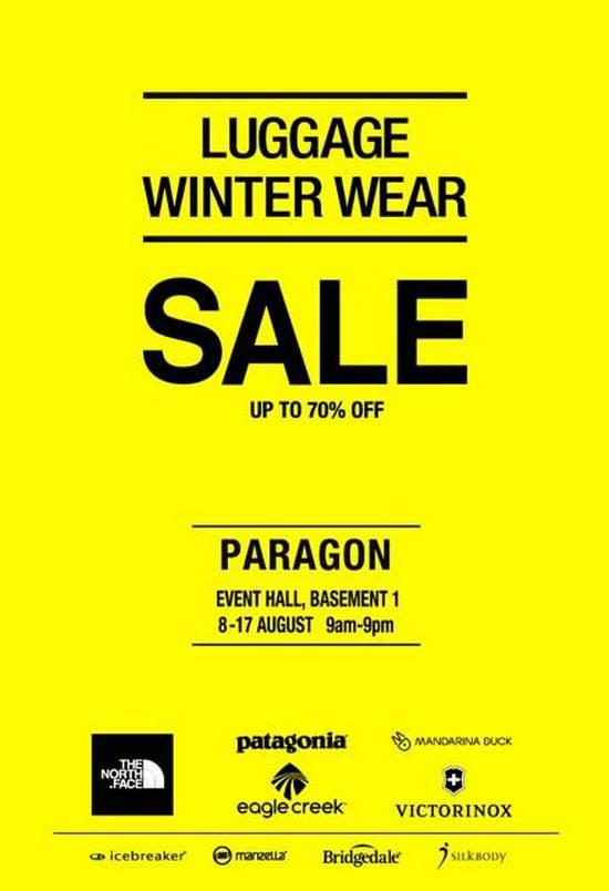 The Planet Traveller Luggage & Winter Wear Fair (Till 17 Aug 2013) 1