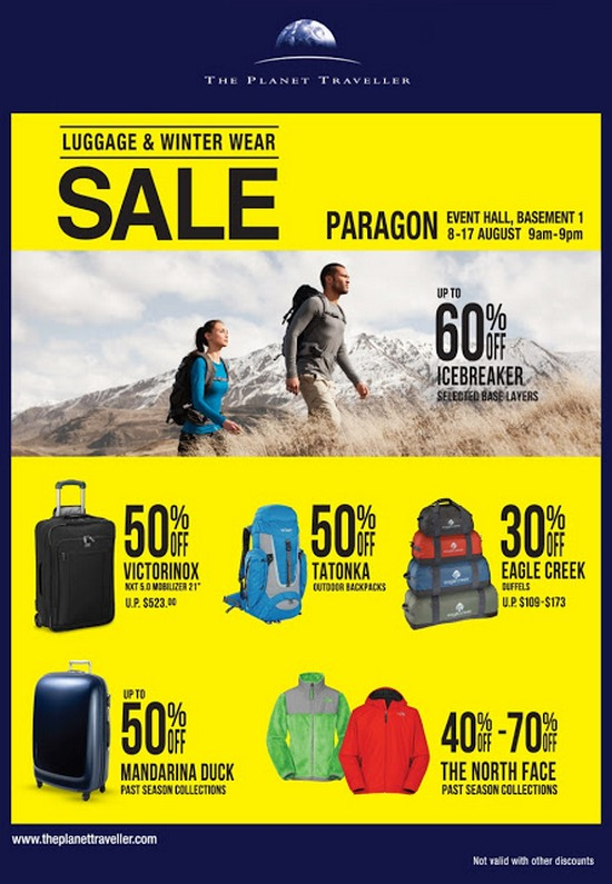 The Planet Traveller Luggage & Winter Wear Fair (Till 17 Aug 2013) 2