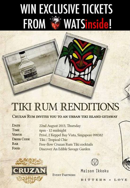 Win Exclusive Tickets to Cruzan Rums Tiki Party @ Prive