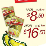 Bee Cheng Hiang Dried Durian Weekday Special Promotion (Till 15 Aug 2013)