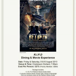 Cathay Cineplexes RIPD Dining and Movie Experience (10 Aug 2013)