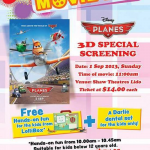 Shaw 3D Special Screening of Disney's PLANES