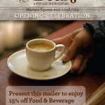 The Coffee Bean and Tea Leaf Opening celebration at Beanstro Marina Square!