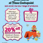 Times Bookstore Centrepoint Promotion (Till 11 Aug 2013)